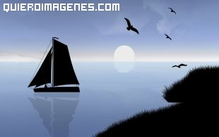 Imagen de un velero en el mar imágenes