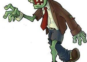 Zombie caminando imágenes