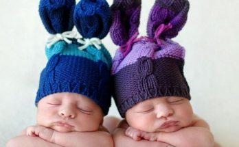 Adorables gemelos imágenes