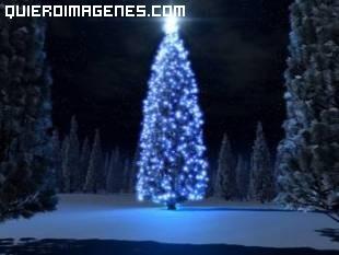 Árbol de Navidad en 3 D imágenes