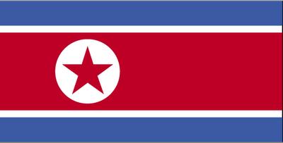 Bandera de Corea del norte imágenes