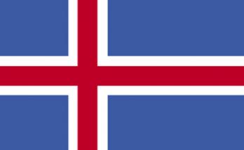 Bandera de Islandia imágenes