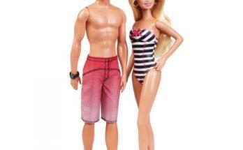 Barbie día de playa imágenes