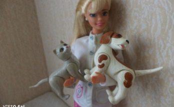 Barbie veterinaria imágenes