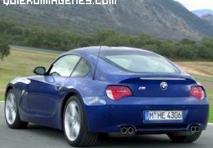 Parte trasera de un BMW deportivo imágenes