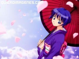 Chica japonesa manga imágenes