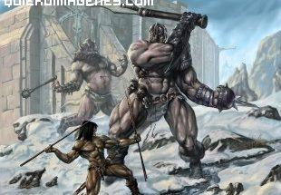 Conan contra 2 gigantes imágenes