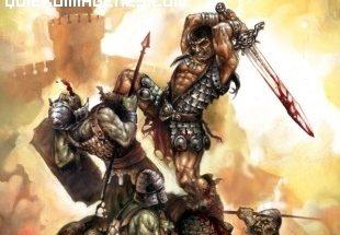 Conan lucha contra No-muertos imágenes