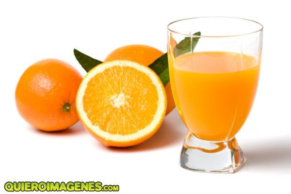 Delicioso jugo de naranja imágenes