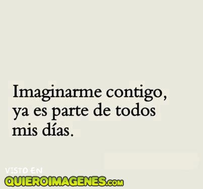 Imaginarme junto a ti imágenes