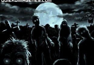 Grupo de zombies imágenes