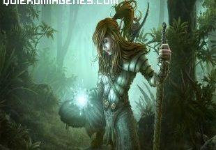 Guerrera del bosque imágenes