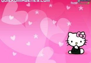 Kitty y los corazones imágenes