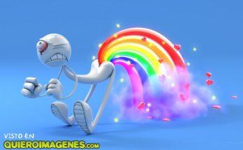 Haciendo el arco-iris imágenes