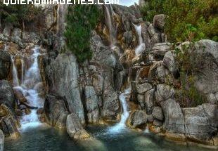 Cascada impresionante imágenes