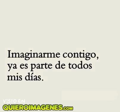 Imaginarme contigo imágenes