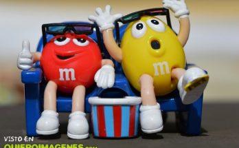 M&M´s en el cine imágenes