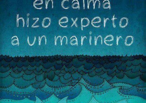 Ningún mar en calma imágenes