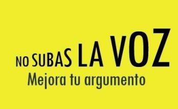 ¡No subas la voz! imágenes
