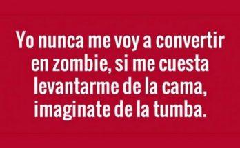 Nunca me convertiré en zombie imágenes