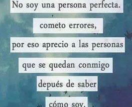 No soy una persona perfecta imágenes