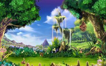 Un precioso bosque fantástico imágenes