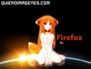 Chica Manga FireFox imágenes