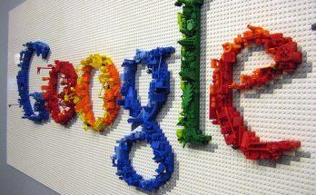 Google en piezas de Lego imágenes
