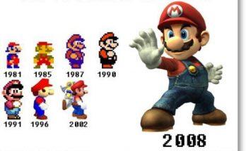 Evolución del Super Mario imágenes