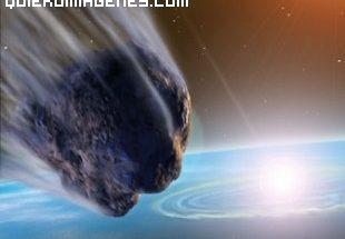 Impacto de un cometa imágenes