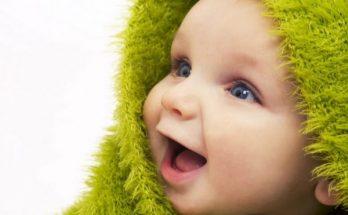 La sonrisa de un bebé imágenes