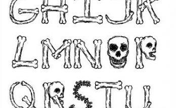 Letras terroríficas imágenes