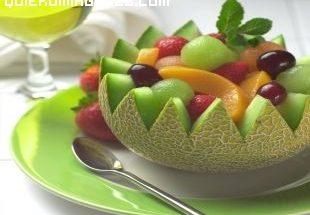 Macedonia de frutas imágenes