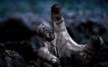 Mano de zombie imágenes