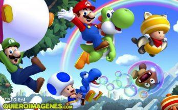 Mario Bros y sus amigos imágenes
