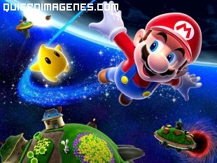 Super Mario en el Espacio imágenes