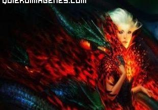 La mujer dragón imágenes