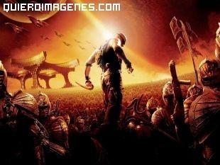 Dibujo de Riddick