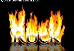 Imagen Rock en llamas imágenes