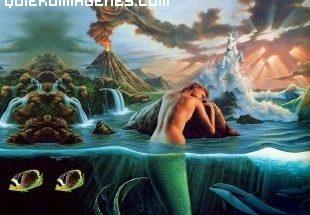 Sirena abatido bajo el volcan imágenes