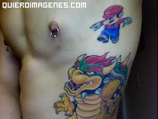 Mario Bros luchando imágenes